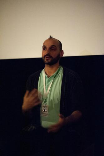 László_Farkas,_director_of_WE,_QUEER_ROMA:_VALENCIA,_photo:_Roberta_Stein